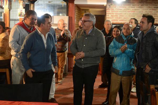 Julio Zamora compartió el festejo por el 37° aniversario del Tigre Rugby Club