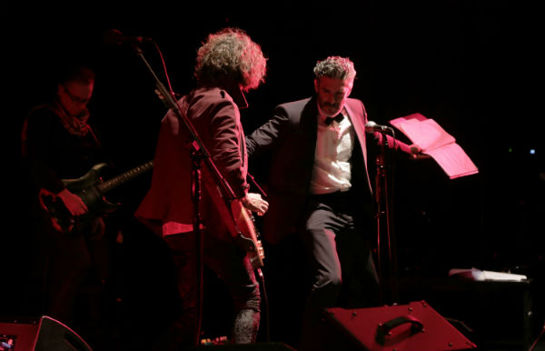 Los hermanos Sbaraglia brillaron ante un colmado Cine Teatro York