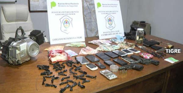 Video: Como fue el operativo para detener una banda que comercializaba drogas y desarmaba autos robados en Tigre