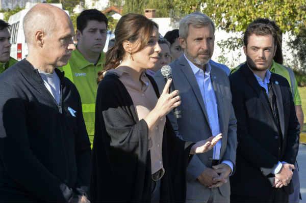 Vidal, Rodríguez Larreta y Frigerio presentaron la red pública de atención primaria de salud AMBA