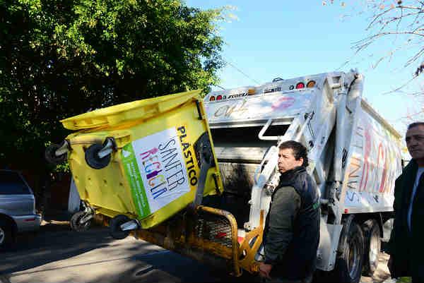 Con Sanfer Recicla se procesan más de 7 mil kg semanales de basura