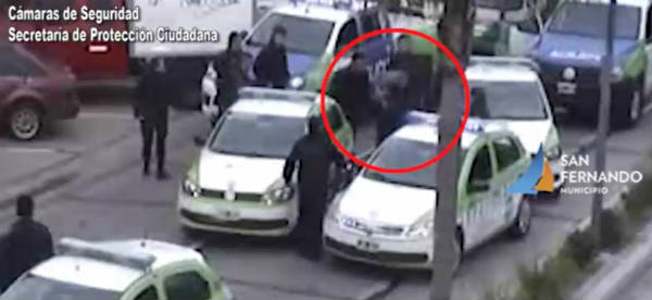 Motochorro fue detenido en Virreyes luego de una cinematográfica persecución