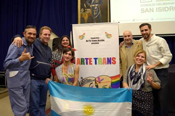Artetrans interpretó en San Isidro Made In Lanus