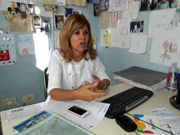 Hepatóloga infantil Teresita González, médica del Hospital de Niños Sor María Ludovica
