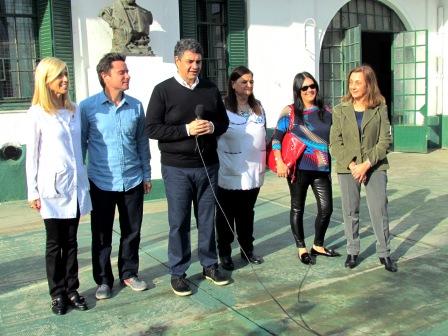 Jorge Macri y Sánchez Zinny presentaron un ambicioso plan de obras para escuelas de Vicente López