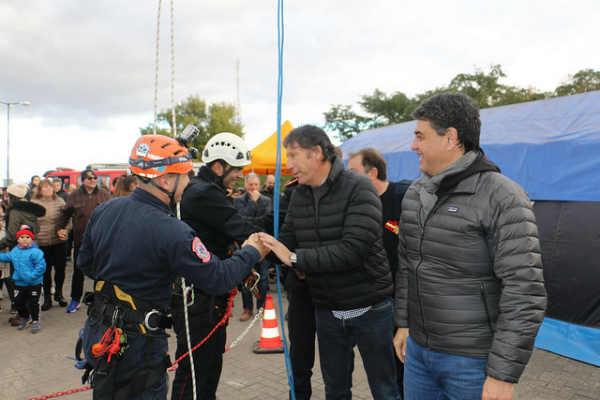 San Isidro y Vicente López celebraron el día del bombero voluntario