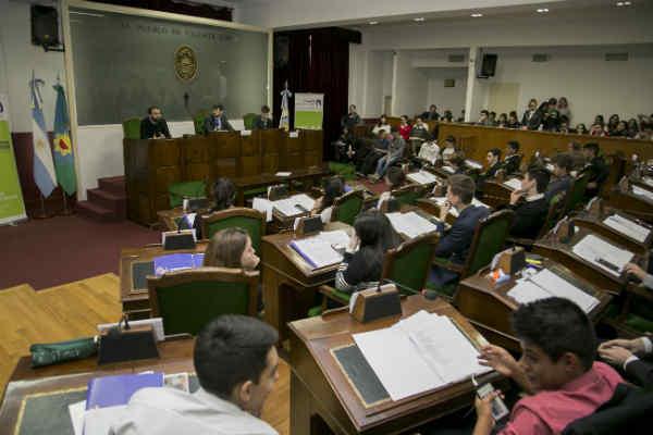 Educación y Empleo, los ejes del primer Parlamento de la Juventud del año en el HCD de Vicente López