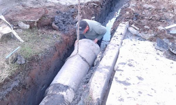 Renovación y mantenimiento de conductos pluviales en Don Torcuato