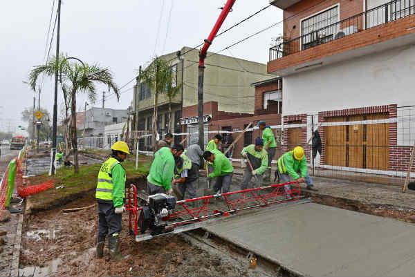 Nuevas dársenas de estacionamiento en San Fernando