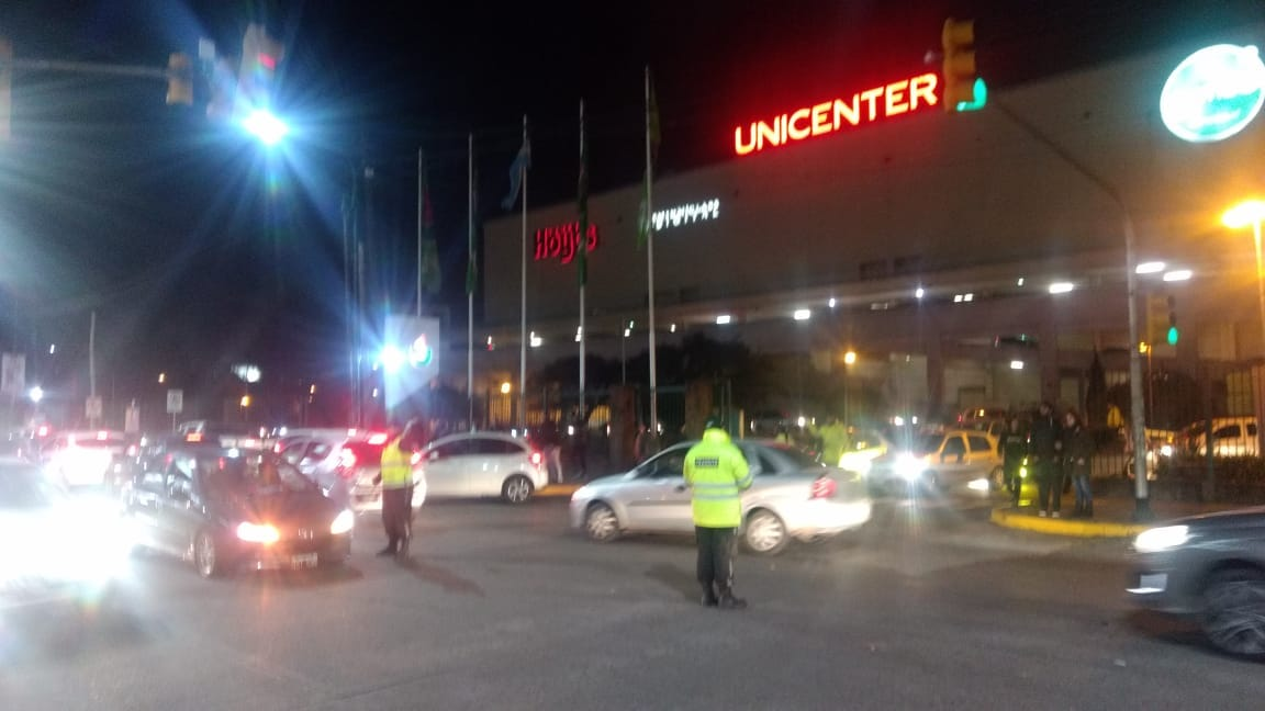Defensa civil San Isidro evacuó 50 mil personas en Unicenter