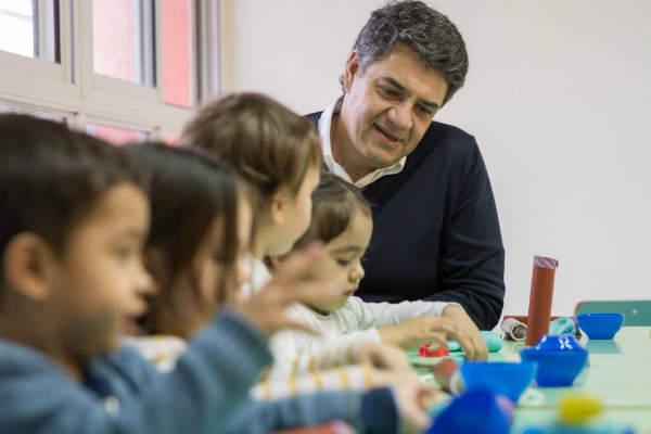 Jorge Macri presentó el fin de obras en el Jardín Maternal Nº2