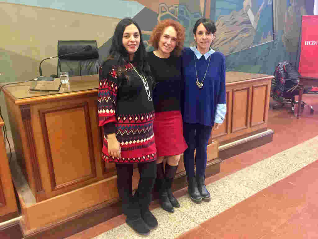 Gladys Pollán se encuentra a cargo de la Comisión de Urbanismo, Florencia Mosqueda a cargo de la Comisión de Educación, y Roxana López a cargo de la Comisión de Derechos Humanos.