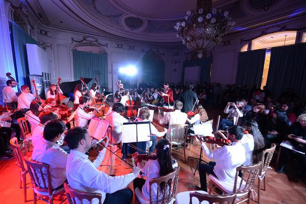"""Destacada participación de los jóvenes músicos de Tigre en un nuevo concierto de """"Partituras"""""""