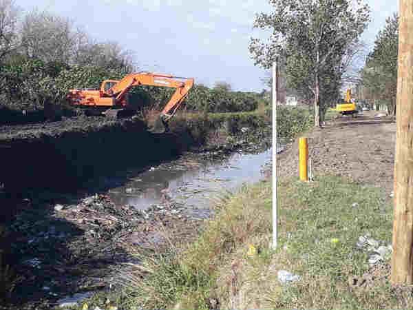 Realizan tareas de limpieza en Don Torcuato Este