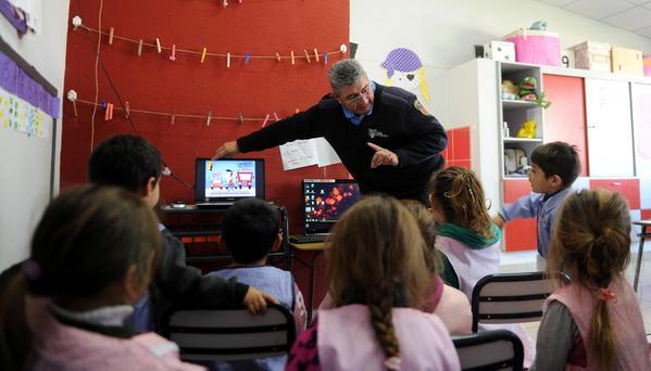 Tigre realiza talleres de Educación Vial en jardines de infantes
