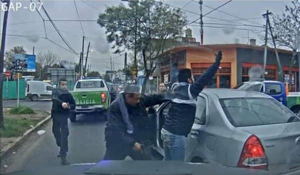 Delincuente aprehendido gracias a las cámaras de seguridad de Vicente López