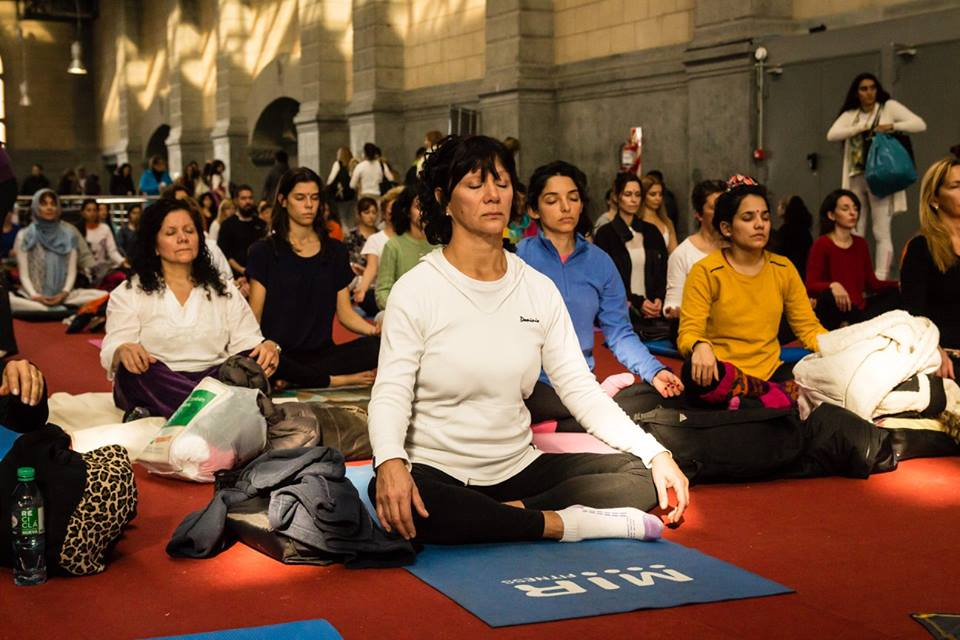 Día Internacional del Yoga en Vicente López