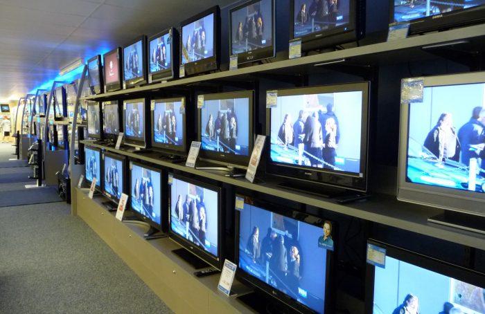 La venta de televisores se duplicó por el mundial