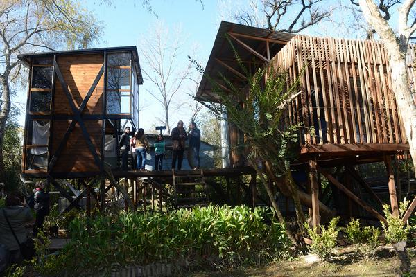 Tigre y la Universidad de Morón presentaron las primeras viviendas sustentables en el Delta