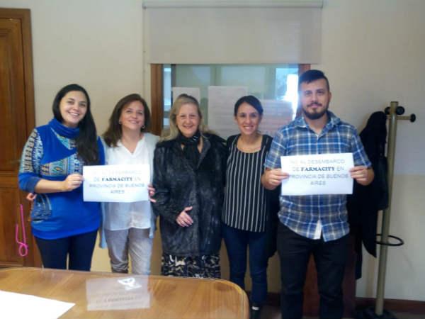 Unidad Ciudadana de Tigre presentó un proyecto contra Farmacity