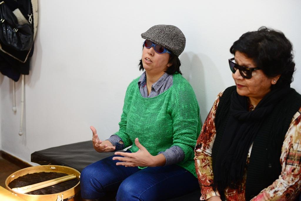 Alumna del Centro para Ciegos de San Fernando integrará el Coro Polifónico Nacional