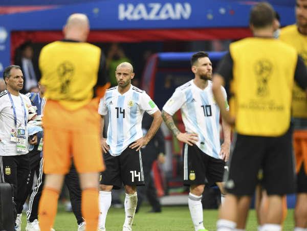 Argentina eliminada: Francia no lo perdonó y frustró la ilusión albiceleste en el mundial de Rusia 2018