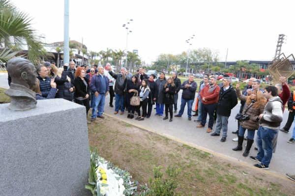 Con eje en la unidad, el PJ Tigre conmemoró el 44º aniversario de la muerte de Juan Domingo Perón