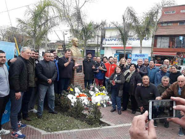 Agrupaciones del justicialismo de San Fernando recordaron el 44 aniversario del fallecimiento de Perón