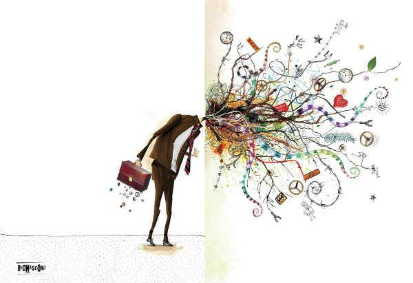 La obra del ilustrador Pablo Bernasconi llega a la Quinta Trabucco