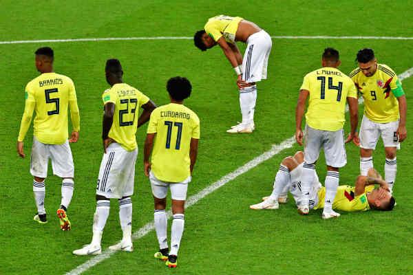Los penales acaban con el sueño de la Colombia de Pekerman en Rusia 2018