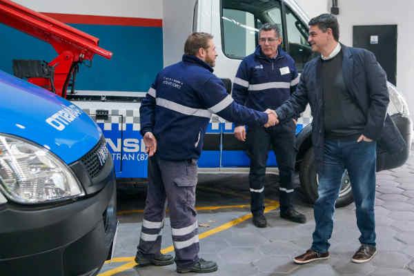 Jorge Macri presentó la nueva central de operaciones de tránsito