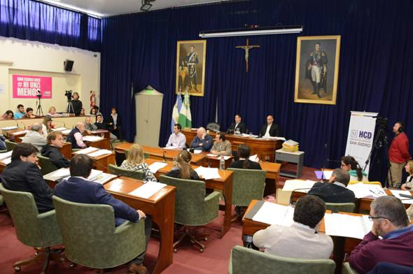 El Concejo Deliberante de San Isidro aprobó la modificación presupuestaria