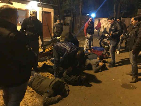 Siete detenidos por venta de drogas en Tigre