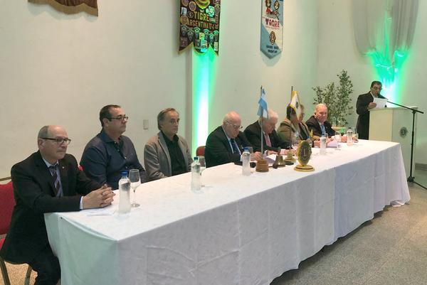 El Club de Leones de Tigre centro renovó sus autoridades