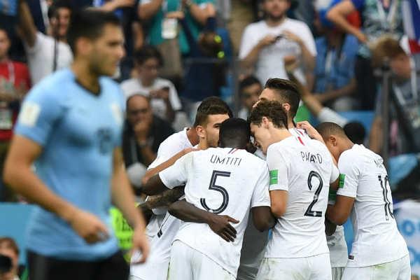 Uruguay pierde la batalla con Francia y dice adiós a Rusia 2018