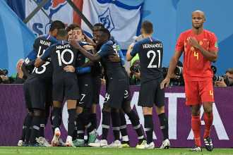 Francia venció a Bélgica y es el primer finalista del mundial de Rusia 2018