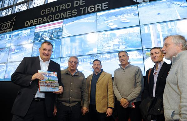 El intendente de Bariloche elogió el modelo de seguridad de Tigre