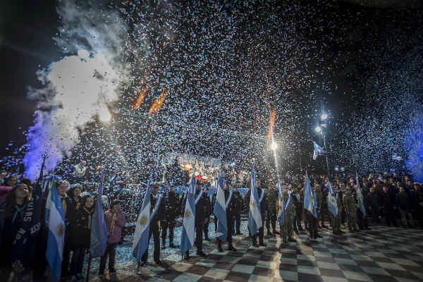 San Isidro festejó un nuevo aniversario de la Independencia