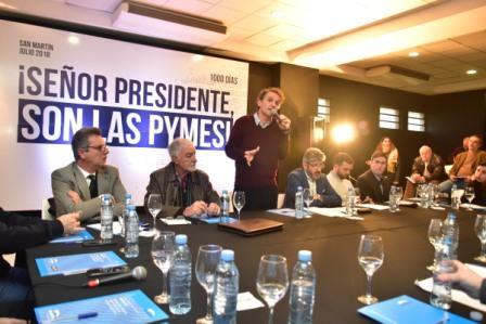 Katopodis cuestionó el modelo económico del gobierno nacional