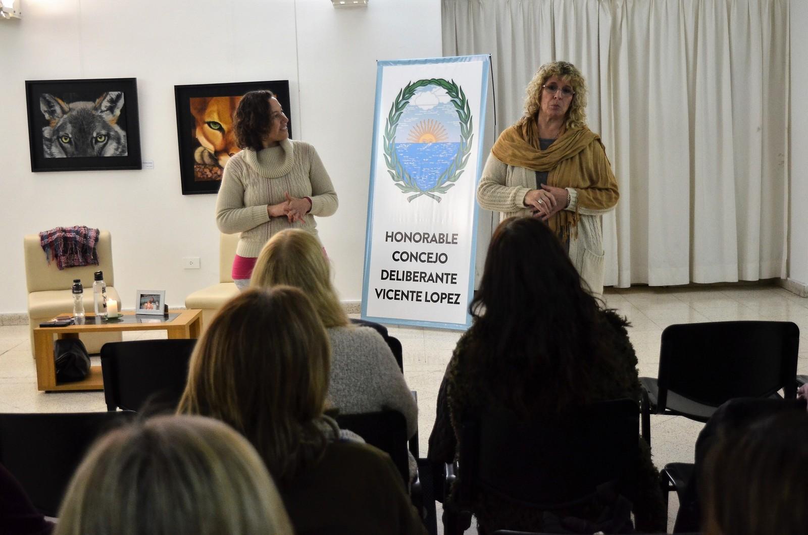 El Arte de Vivir realizó un taller de manejo del estrés en el Concejo Deliberante de Vicente López