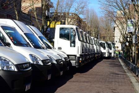 San Fernando sumó 26 nuevos camiones a la flota del Municipio