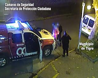 Abrió un auto en plena avenida Cazón, huyó y fue detenido por el COT