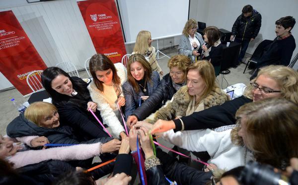 Derribar estereotipos sociales, clave del encuentro de mujeres en Tigre