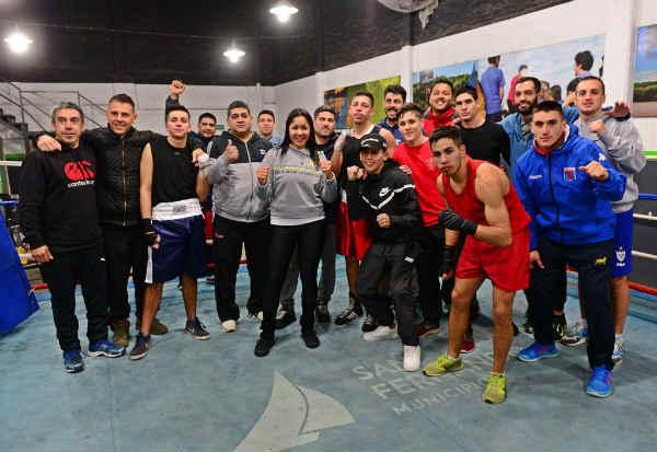 La Escuela Municipal de Boxeo de San Fernando ofreció una jornada abierta de exhibiciones
