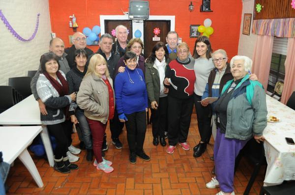 Tigre respaldó la labor del centro de jubilados y pensionados General Conesa de Benavídez