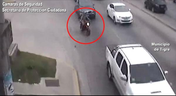 Tras una Intensa persecución cayó un peligroso ladrón buscado en zona norte