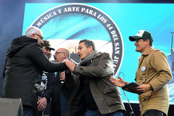 Familiares de los tripulantes del ARA San Juan reclamaron verdad y justicia en Tigre