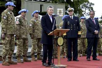 Macri dio a conocer nueva directiva de defensa nacional