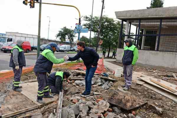 San Fernando construye Posta Policial y realiza mejoramientos del espacio público en Villa Jardín