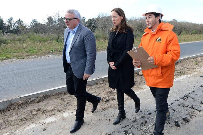 Julio Zamora recibió a Vidal y le planteó demandas en materia de salud, educación y medio ambiente.